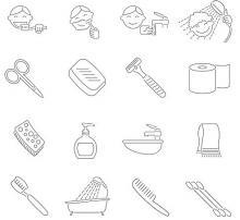Personal hygiene illustration